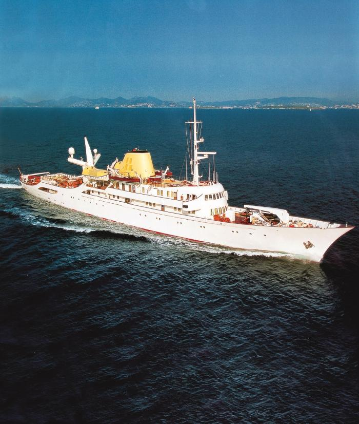 A bordo del Christina O