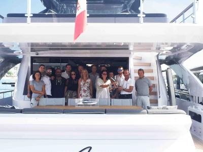 Amer Yachts premio alla luce