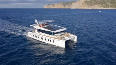 Silent Yachts 55, la prova