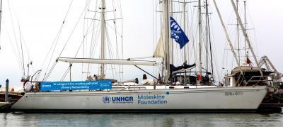 Moleskine Foundation e UNHCR alla Barcolana 2019