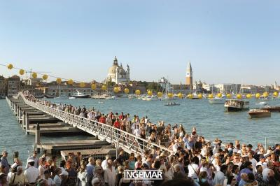 Venezia, camminare sull'acqua