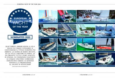 European Yacht of the Year, foto e video di tutte le barche provate!