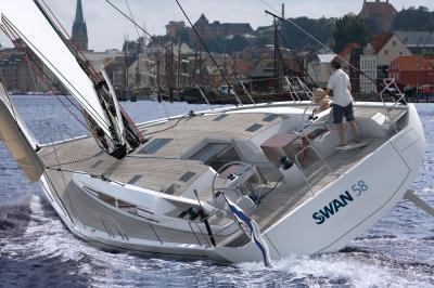 Ecco le prime immagini del nuovo Swan 58!