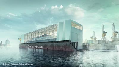 Dock 10 di Blohm+Voss più spazio al coperto