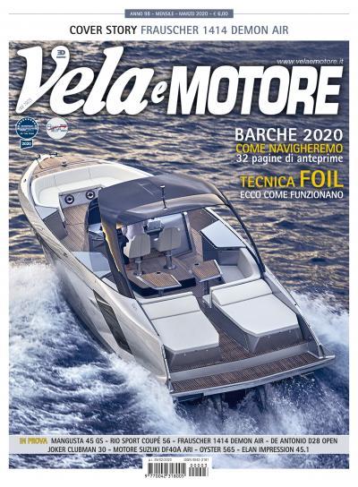Vela e Motore di marzo 2020 è in edicola, perché non perderla