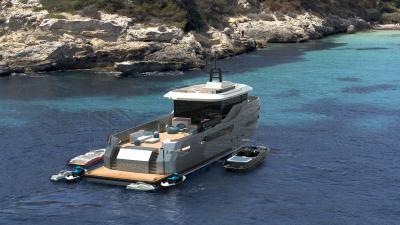 Lynx Yachts vi presento Crossover 27, tra explorer e support vessel