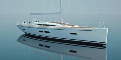 Italia Yachts 15.98 m scende in acqua Bellissima