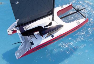 Linee sportive e potenti per il nuovo C-Cat 62 del cantiere C-Catamarans