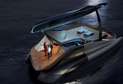 Icona Design entra nello yachting con un cat elettrico
