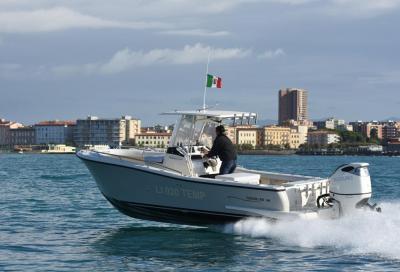 Test Tuccoli T250 VM: come naviga