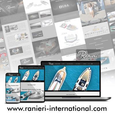 Online il nuovo sito internet di Ranieri International!