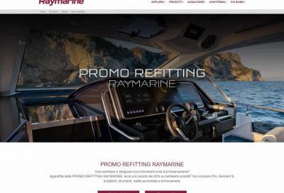 Raymarine, arriva l'offerta Promo Reffiting 2020 con il 22% di sconto