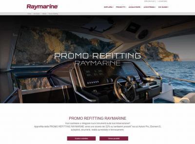 Raymarine, potenzia l'offerta Promo Reffiting 2020 con il 30% di sconto
