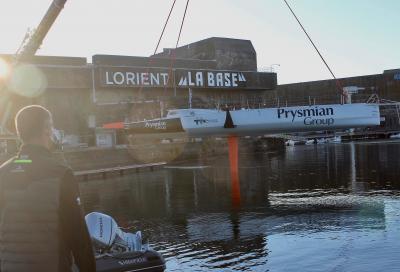 Vendée Globe, Pedote ha varato il suo Imoca 60 Prysmian Group