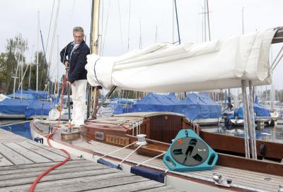 Gardena nella nautica con prodotti per pulizia e manutenzione