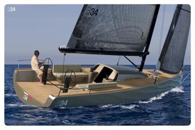 Brenta B34, weekend sailer con l'eleganza di un racer
