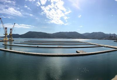Ingemar, in fase di ultimazione il marina galleggiante a La Spezia con 890 posti barca