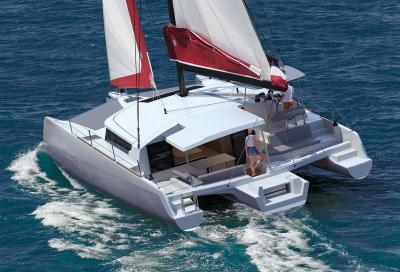 Neel 43, arriva l'entry level della gamma Neel Trimarans