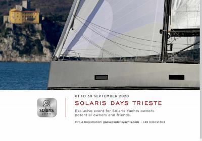 Solaris Days a Trieste dall'1° al 30 settembre: prenota la tua visita!
