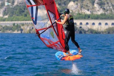 La vela azzurra già al lavoro sul nuovo windsurf olimpico IQ Foil