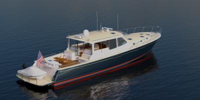 MCM scelta per la costruzione di uno yacht da 21 metri