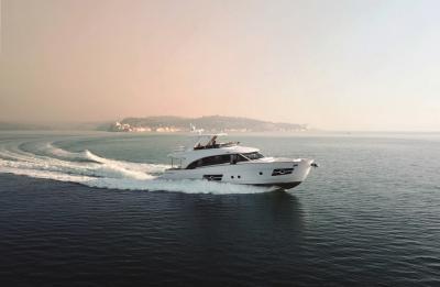 OceanClass 68, l'ammiraglia ibrida di Greenline Yachts