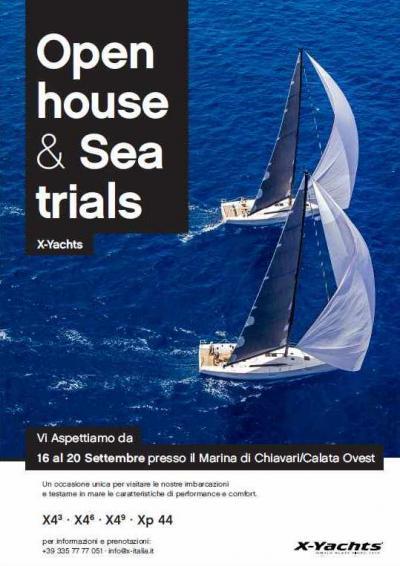 Open Day X-Italia, la gamma X-Yachts in prova a Chiavari
