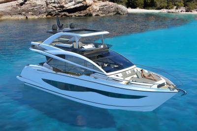 Pearl Yachts 62, quattro versioni per interni di lusso