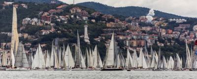 Alla Barcolana la barca Portopiccolo-Prosecco DOC