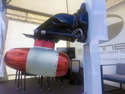 I waterjet DeepSpeed al Salone di Genova