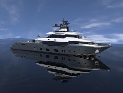 Oceanic Yachts 140' Fast Expedition di Canados, la costruzione è già in fase avanzata