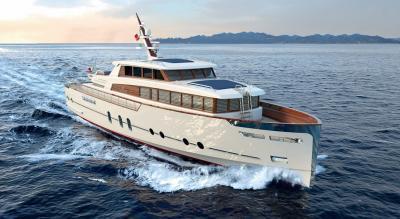 Gentleman's Yacht, il primo 24 metri di Codecasa