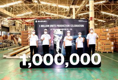 Thai Suzuki Motor: un milione di fuoribordo Suzuki prodotti