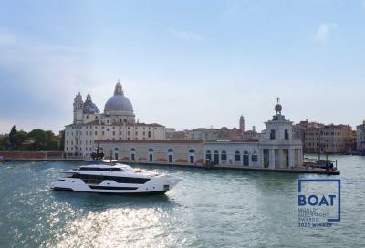Trionfo di Custom Line ai World Superyacht Awards 2020