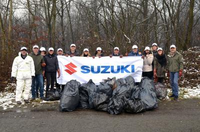 Suzuki festeggia la Giornata nazionale degli alberi
