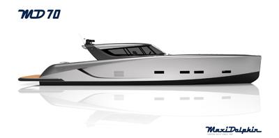 A Maxi Dolphin un nuovo step nella costruzione del primo esemplare di MD70 Power