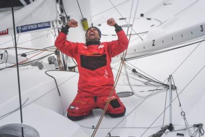 Giancarlo Pedote chiude il Vendèe Globe al settimo posto in tempo reale