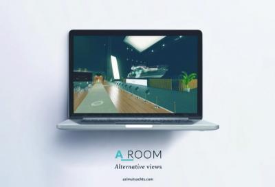 Le novità Azimut nello showroom virtuale A-Room