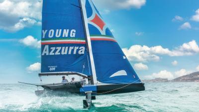 Young Azzurra parte dalla Youth Foiling Gold Cup