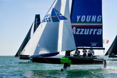 Young Azzurra, secondo posto alla Youth Foiling Gold Cup