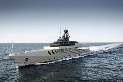 Antonini Navi costruirà OPV 56, superyacht di 56 metri sotto le 500 GT