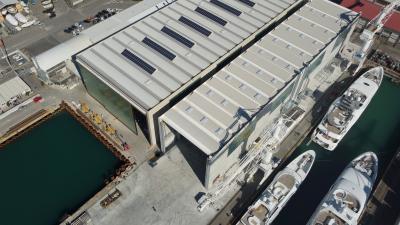 The Italian Sea Group amplia gli spazi del cantiere