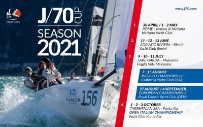 Parte da Nettuno la J70 Cup 2021
