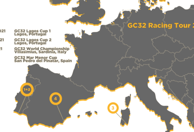 GC32 Racing Tour, posticipata la partenza della stagione 2021