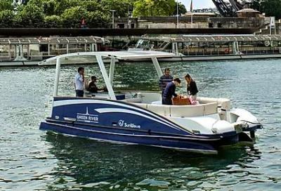 Due nuove barche sulla Senna grazie a Transfluid