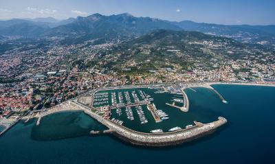 La nuova immagine del Marina di Loano