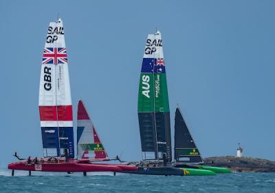 Ben Ainslie e il Great Britain SailGP Team vincono alle Bermuda