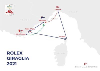 Rolex Giraglia 2021, pubblicato il bando di regata