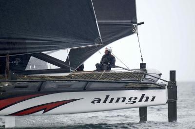 TF35, vittoria di Alinghi nel primo evento