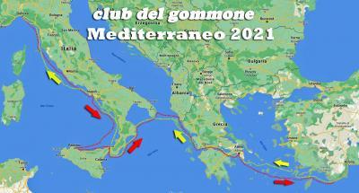 """Il 22 maggio al via da Genova """"Mediterraneo 2021"""" il nuovo raid del Club del Gommone di Milano"""
